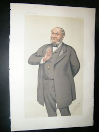 Vanity Fair Print: 1882 Sampson S. Lloyd